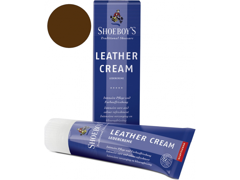 Shoeboy's Leather Creme Tumši brūna