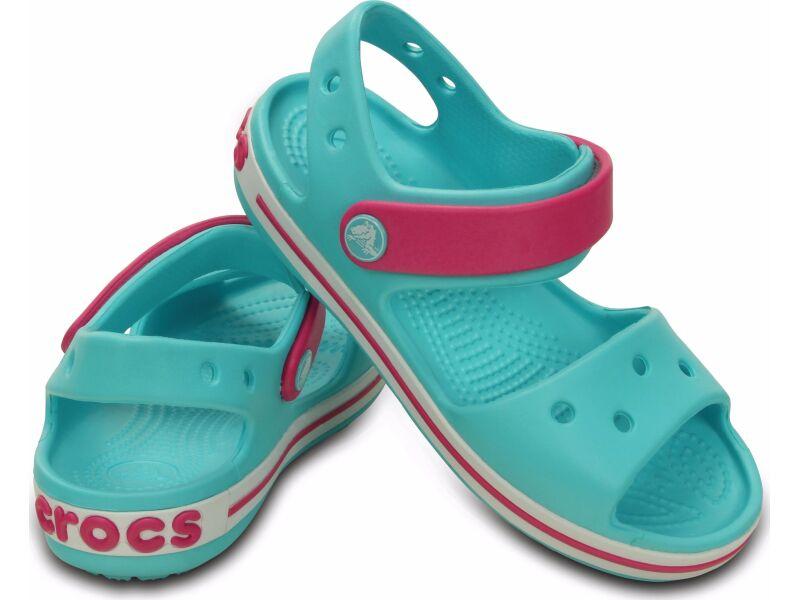 Crocs™ Kids' Crocband Sandal Pool/Candy Pink