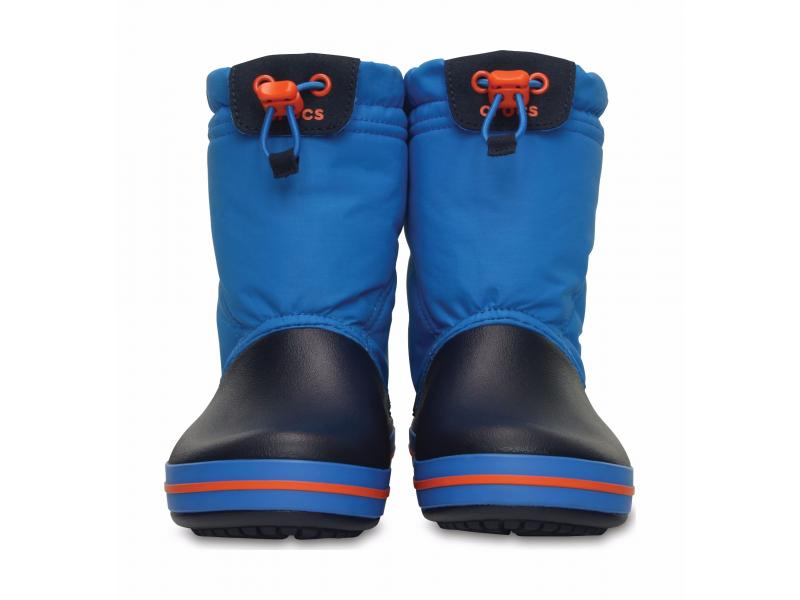 Crocs™ Kids' Crocband Lodgepoint Boot Ocean/Navy