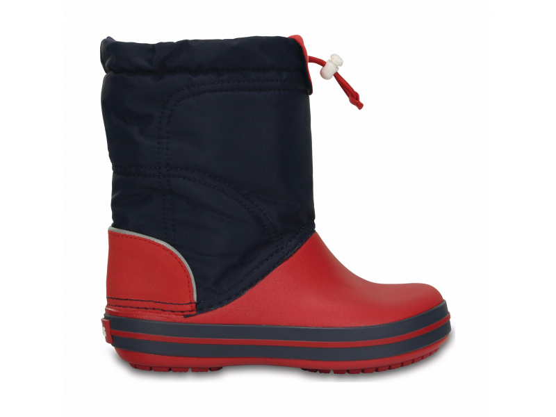 Crocs™ Kids' Crocband Lodgepoint Boot Navy/Red