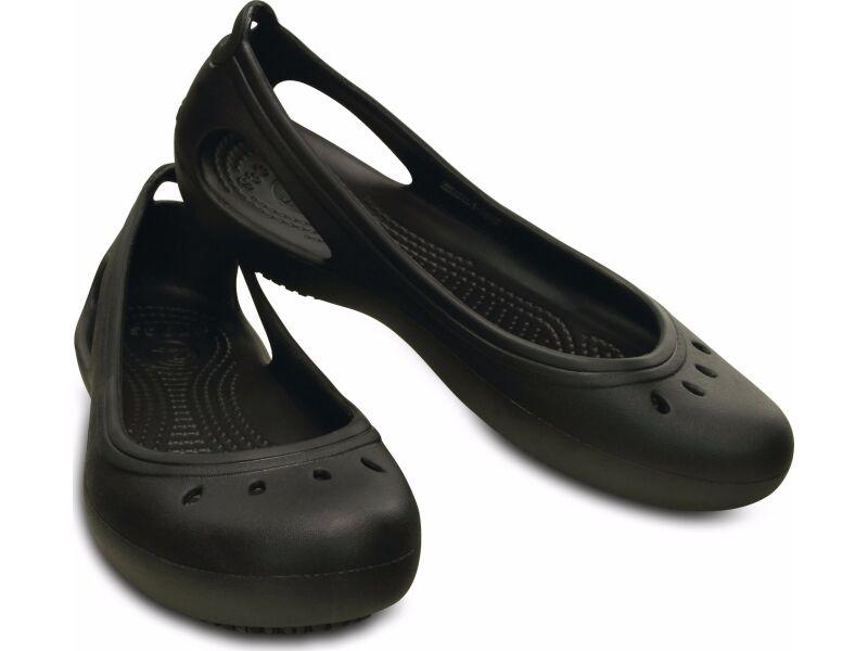 Crocs™ Kadee Work Flat Black