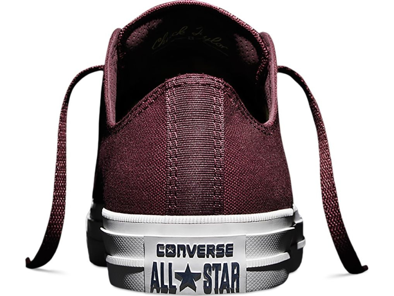 Converse Chuck Taylor All Star II Ox Deep Bordeaux/White
