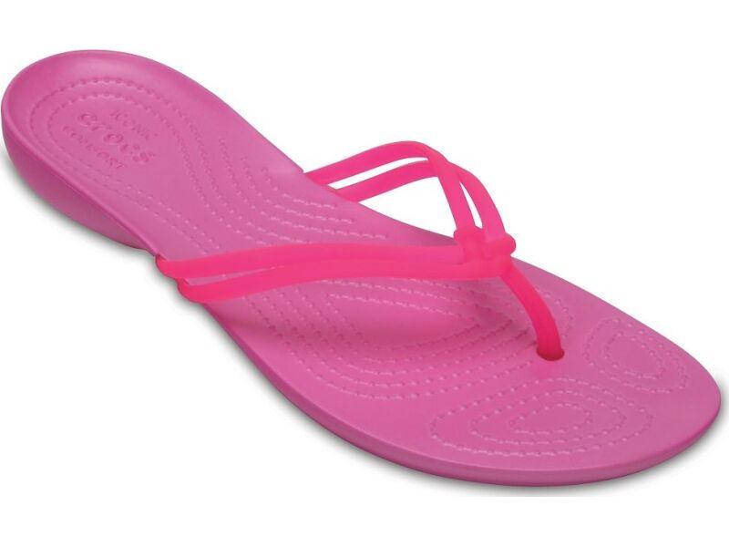 Crocs™ Isabella Flip Vibrant Pink/Party Pink
