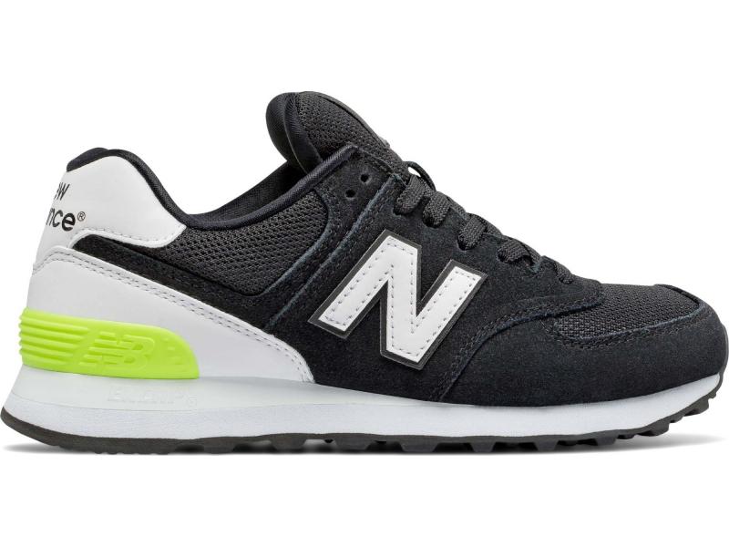 New Balance WL574 Black/White