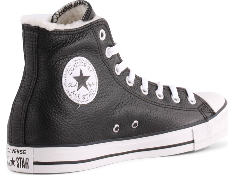 CONVERSE Chuck Taylor All Star Leather Black/White/Black
