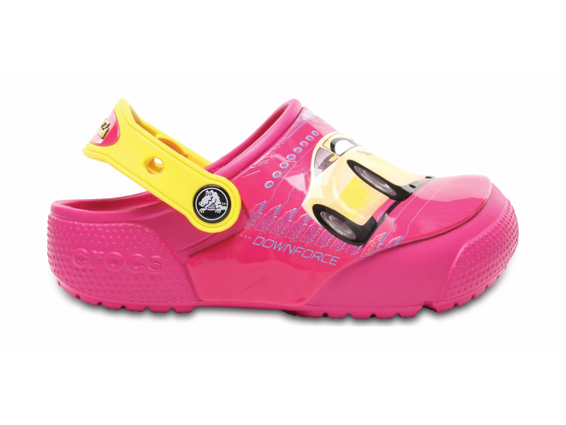 Crocs™ Funlab Lights Cars 3 Clog Candy Pink
