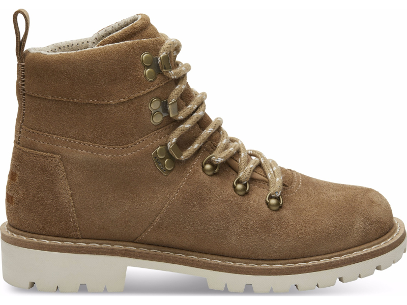 TOMS Waterproof Suede Women'S Summit Boot Toffee