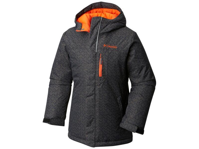 Columbia Alpine Free Fall Jacket Black Crossed Tracks