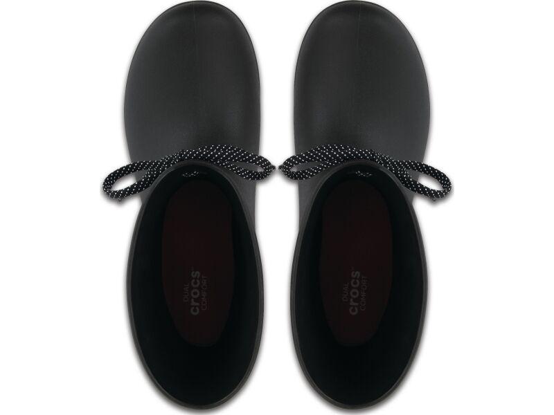 Crocs™ Freesail Shorty Rain Boot Black