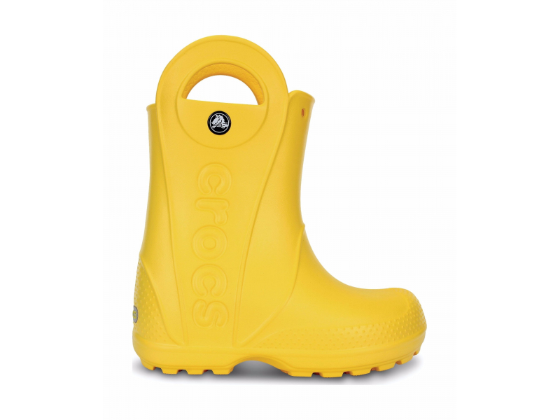 Crocs™ Kids' Handle It Rain Boot Dzeltena