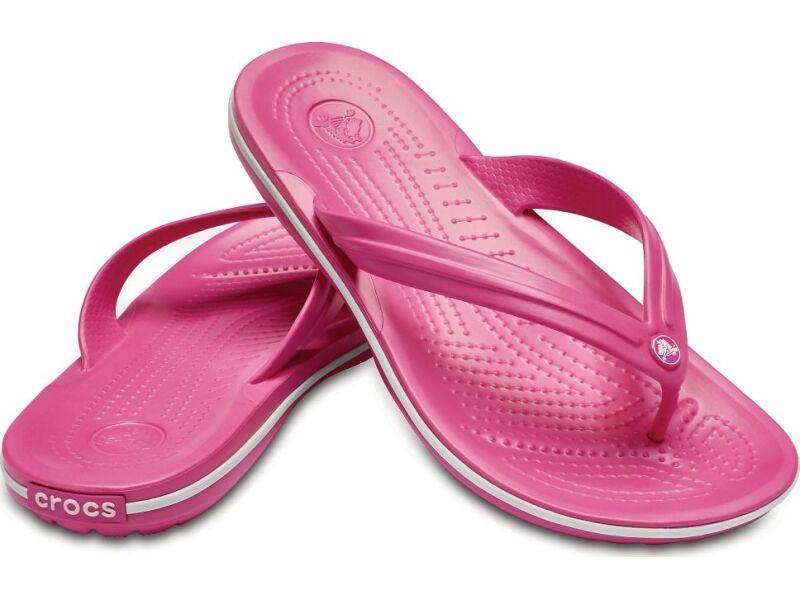 Crocs™ Crocband™ Flip Paradise Pink/White