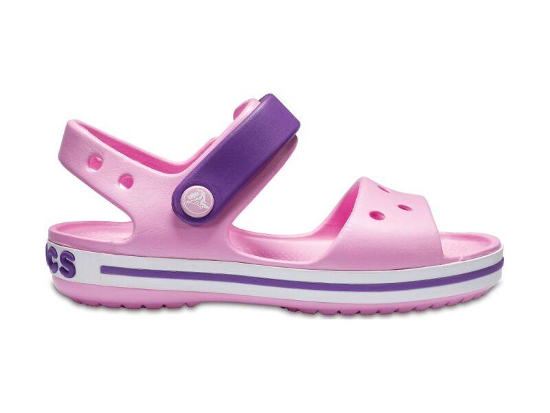 Crocs™ Kids' Crocband Sandal Carnation/Amethyst