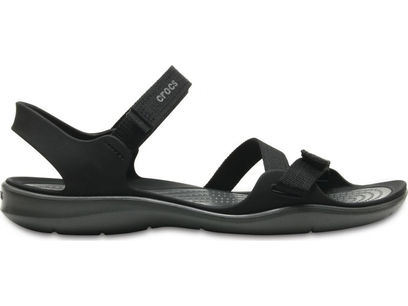 Crocs™ Women's Swiftwater Webbing Sandal Black