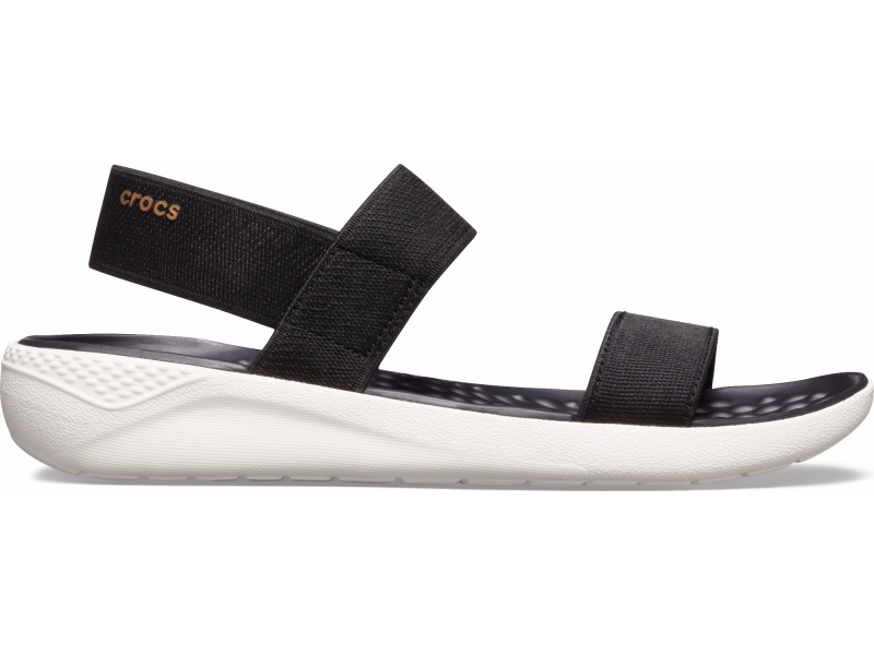 Crocs™ Women's LiteRide Sandal Black/White