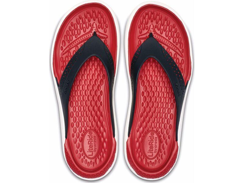 Crocs™ LiteRide Flip Black/White
