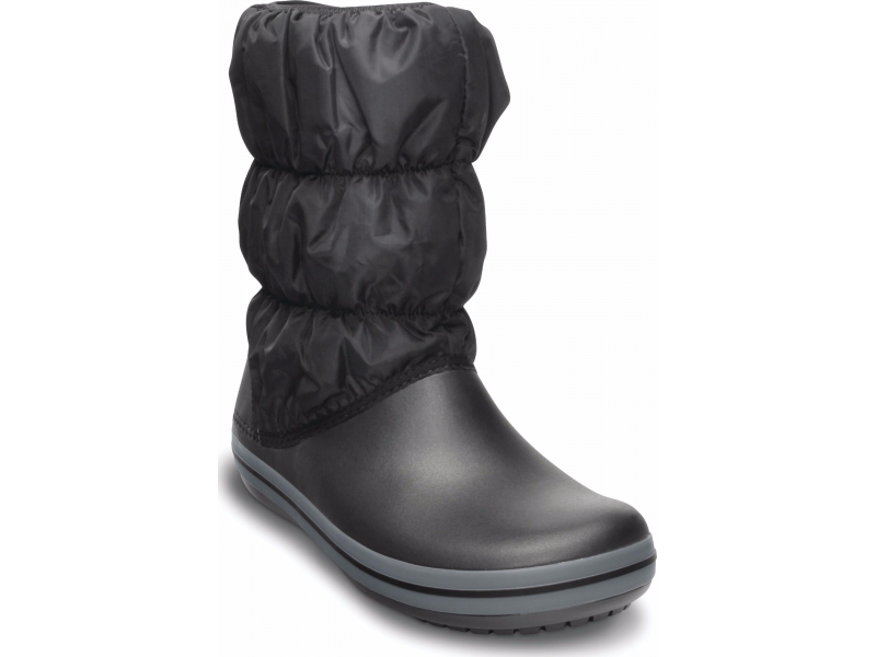 Crocs™ Winter Puff Boot Melna/Pelēka