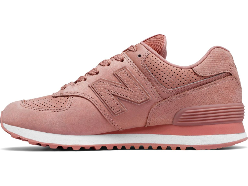 New Balance WL574 Serpent Luxe Dusted Peach