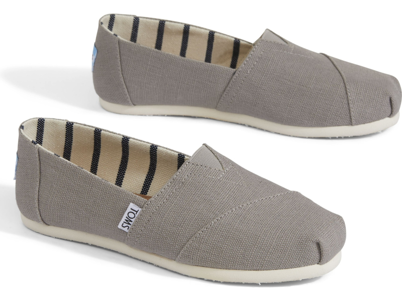 TOMS Heritage Canvas Women's Alpargata Morning Dove