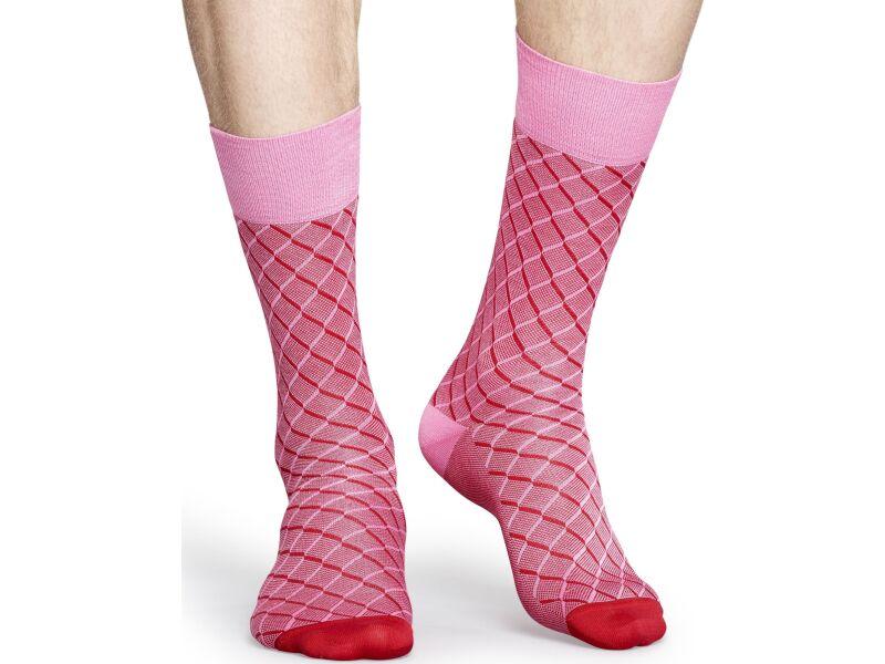 Happy Socks Dressed Red/Pink