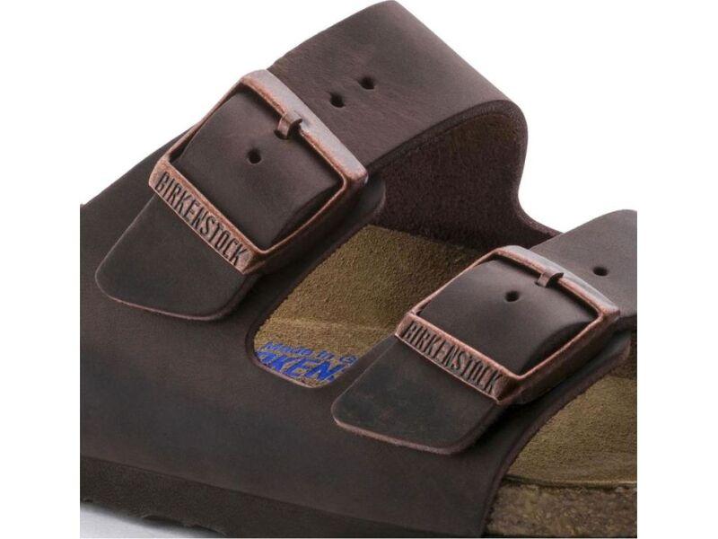Birkenstock Arizona SFB Oiled Leather Habana