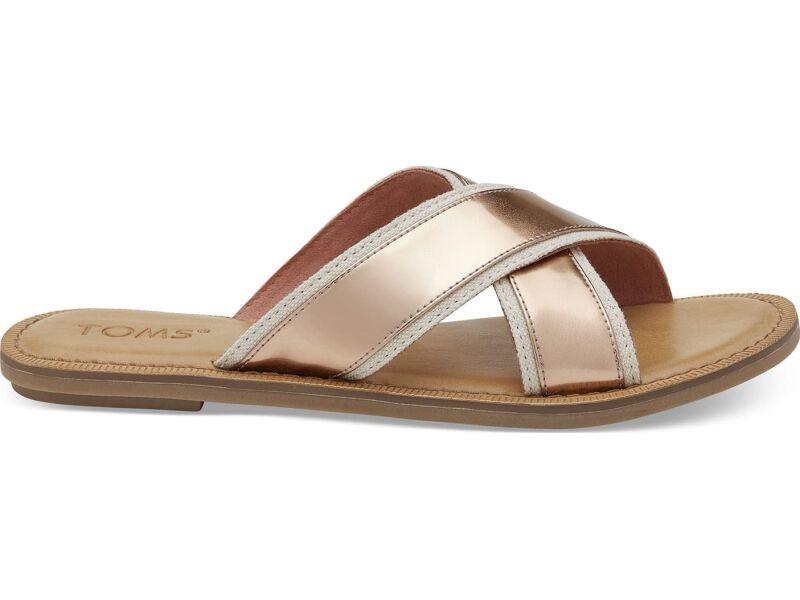 TOMS Specchio Women's Viv Sandal Rose Gold