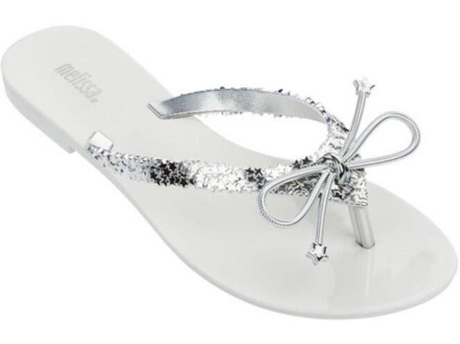 Melissa Harmonic Elements AD White/Metalized Silver
