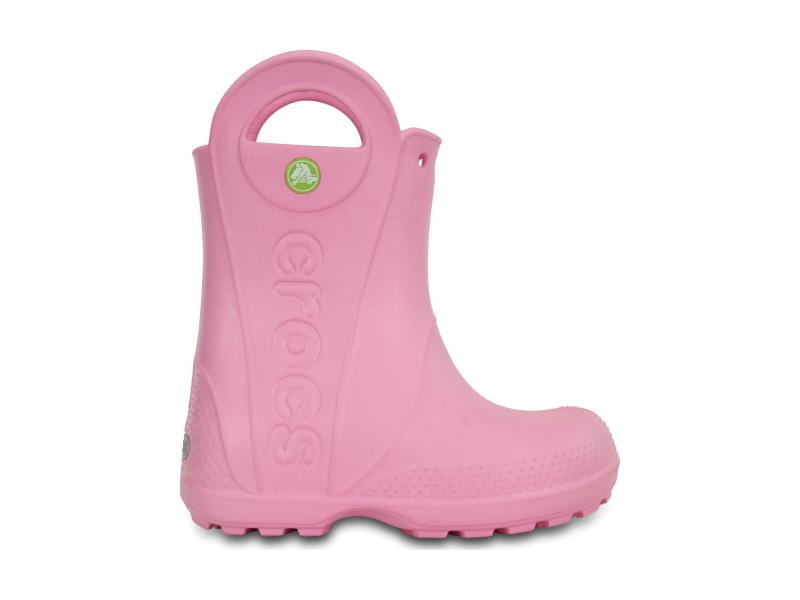 Crocs™ Kids' Handle It Rain Boot Carnation