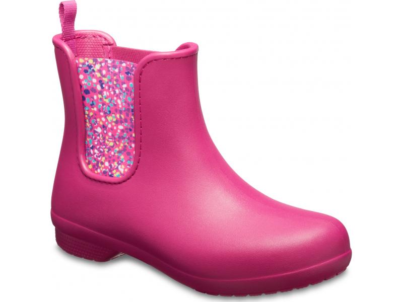 Crocs™ Freesail Chelsea Boot Berry/Dots