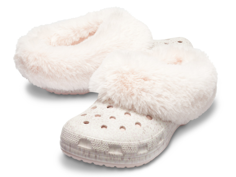 Crocs™ Classic Mammoth Luxe Radiant Clog Rose Dust