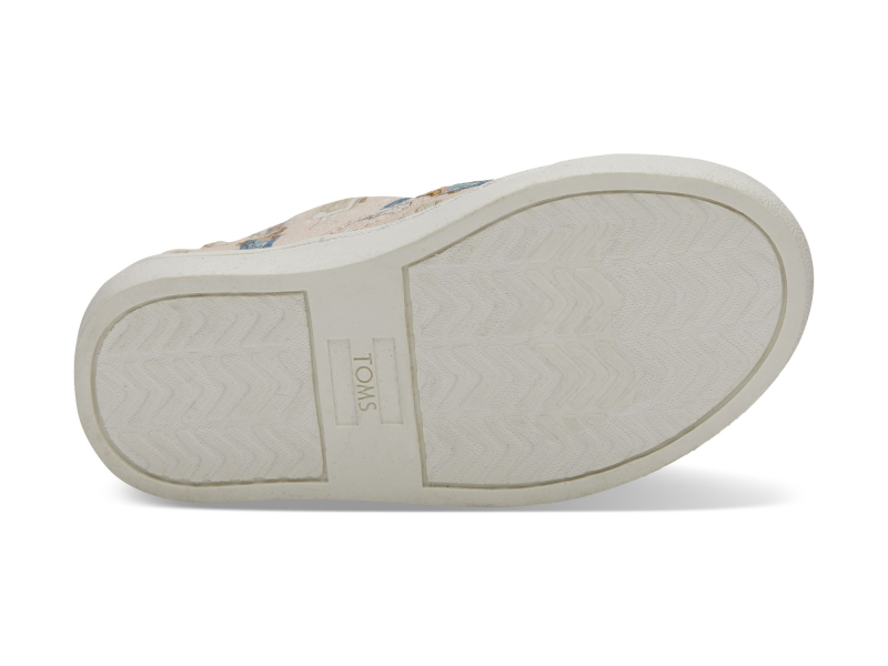 TOMS Sleeping Beauty Printed Kid's Luca Slipon Pink