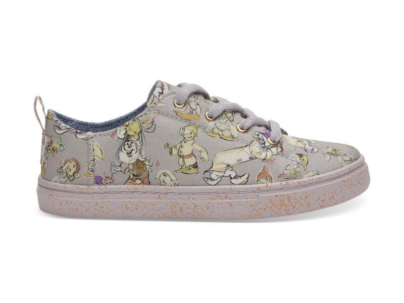 TOMS Seven Dwarfs Canvas Junior's Lenny Sneaker Grey