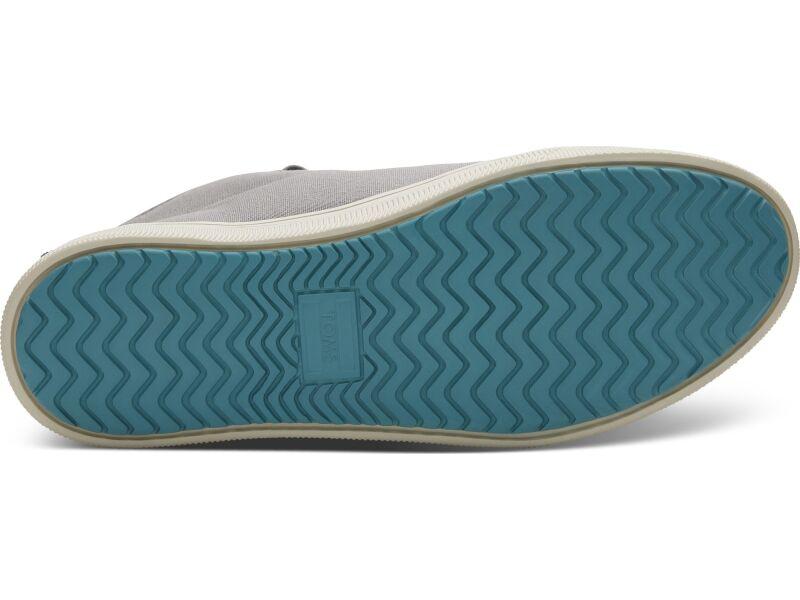 TOMS Canvas Men's Trvl Lite High Sneaker Neutral Gray