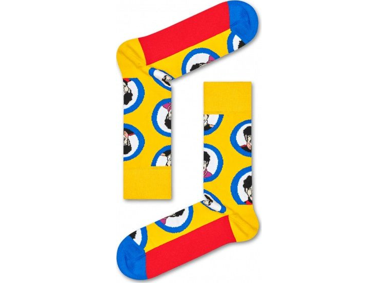 Happy Socks Submarine Sock Yellow/Blue/Red