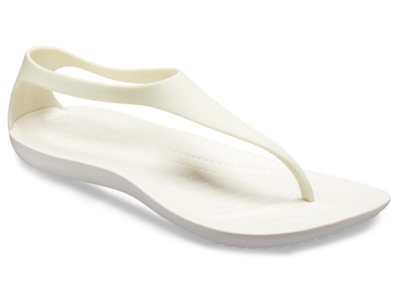 Crocs™ Sexi Flip Oyster