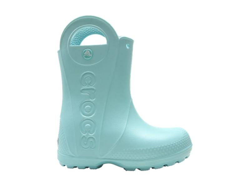 Crocs™ Kids' Handle It Rain Boot Ice Blue