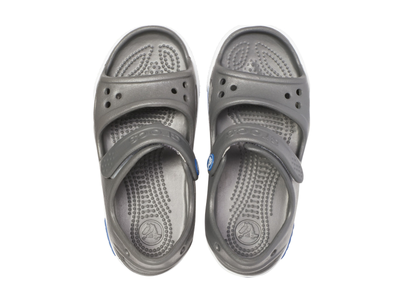 Crocs™ Kids' Crocband II Sandal PS Slate Grey/Blue Jean