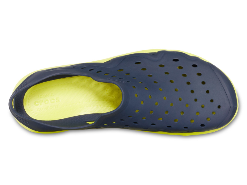 Crocs™ Swiftwater Wave Men's Navy/Citrus