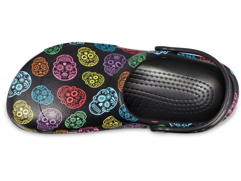 Crocs™ Bistro Graphic Clog Multi/Black