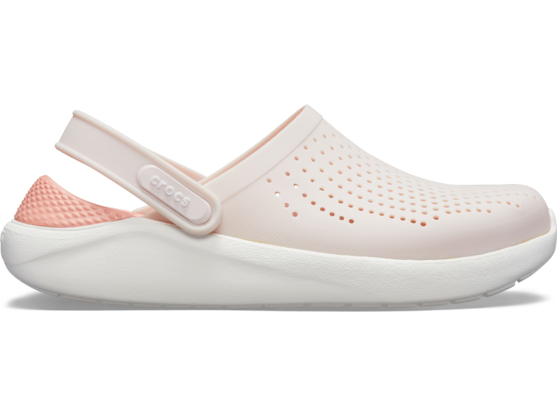 Crocs™ LiteRide Clog Barely Pink/White