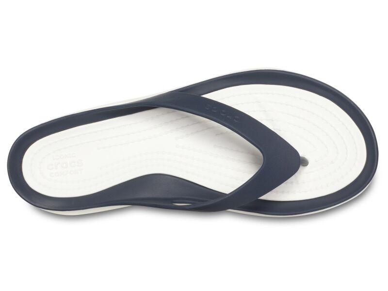 Crocs™ Women's Swiftwater Flip Navy/White