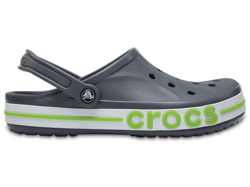 Crocs™ Bayaband Clog Charcoal/Volt Green