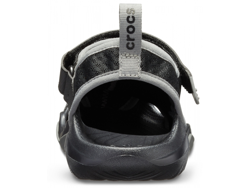Crocs™ Swiftwater Mesh Deck Sandal Men's Black