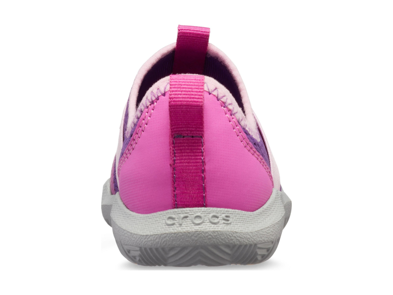 Crocs™ Swiftwater Easy-On Logo Shoe Kid's Amethyst/Vibrant Violet