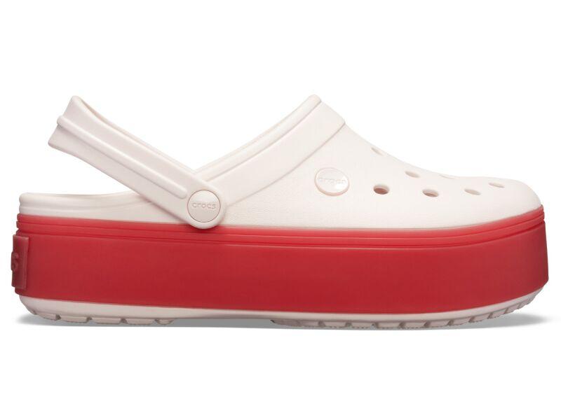 Crocs™ Crocband Platform Clog Barely Pink/Pepper