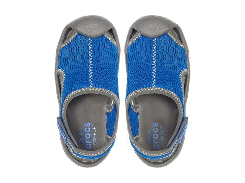 Crocs™ Swiftwater Mesh Sandal Kid's Blue Jean