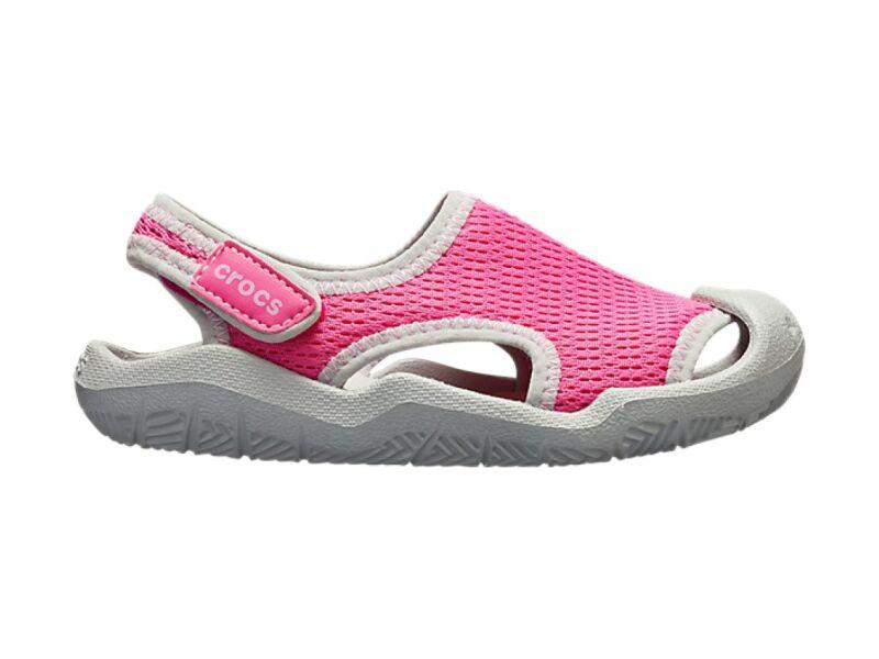 Crocs™ Swiftwater Mesh Sandal Kid's Candy Pink