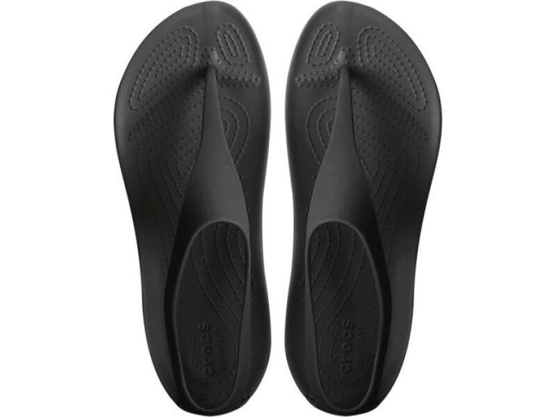 Crocs™ Serena Flip Women's Black/Black
