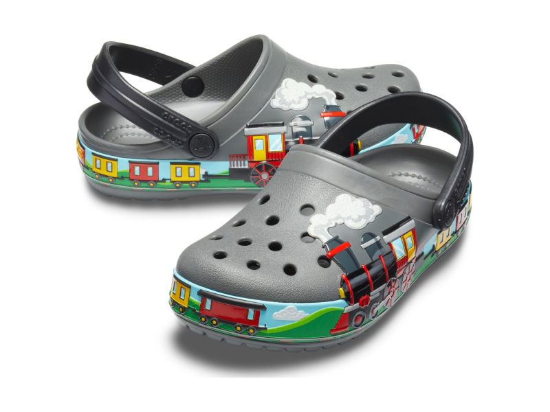 Crocs™ Funlab Train Band Clog Kid's Slate Grey