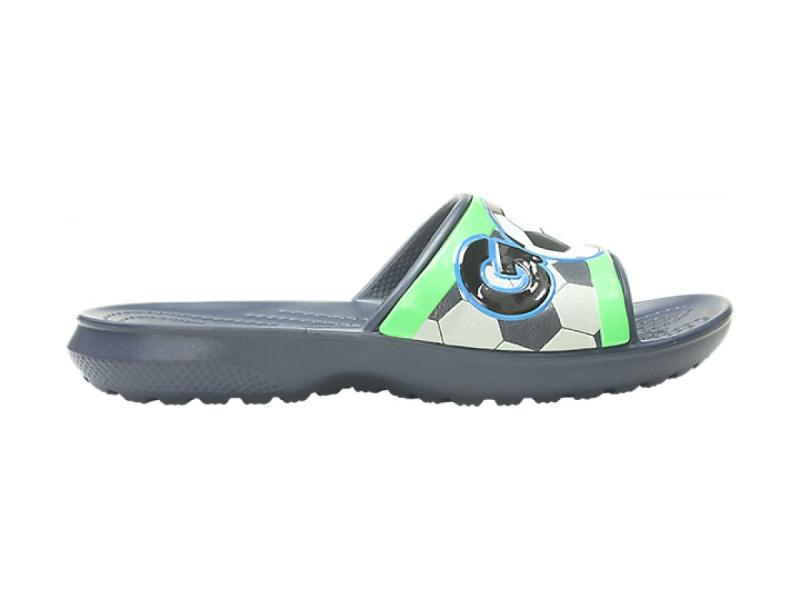 Crocs™ Funlab Sports Fan Slide Kid's Navy