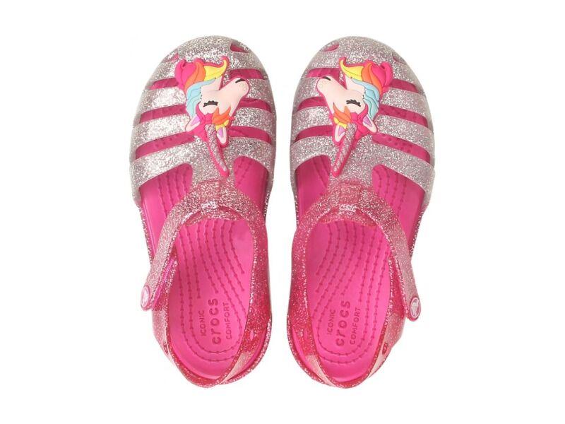 Crocs™ Isabella Charm Sandal Kid's Pink Ombre